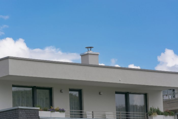 residential flat roof design